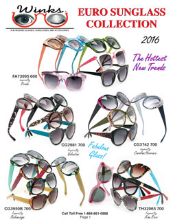 Winks New Sunglass Catalog 2016