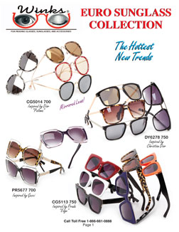 Winks New Sunglass Catalog 2017