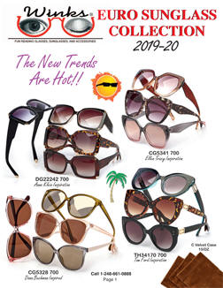 Winks — 2019 Sun Glass Catalog